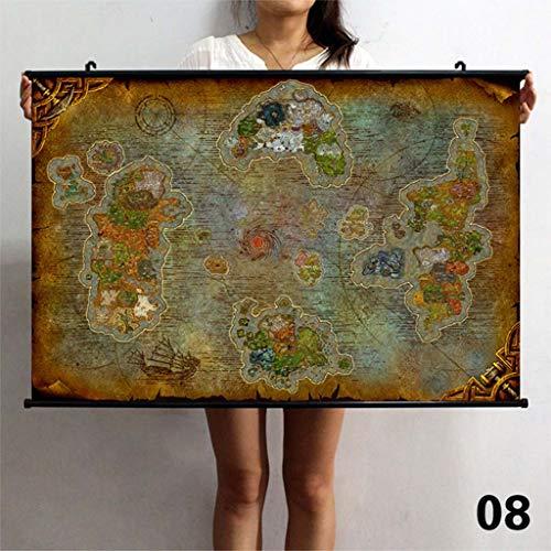 Warcraft Wandposter Malerei Home Decor Wasserdichte Kunstdruck Ungerahmt ()