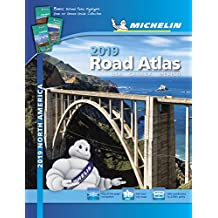 Michelin North America Road Atlas 2019 (Michelin Road Atlas)