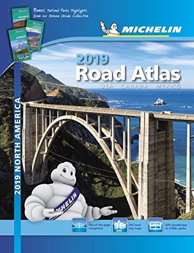 Road Atlas 2019  USA Canada  Mexico A4 S (Michelin Road Atlas)
