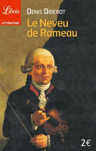 Le Neveu de Rameau par Denis Diderot