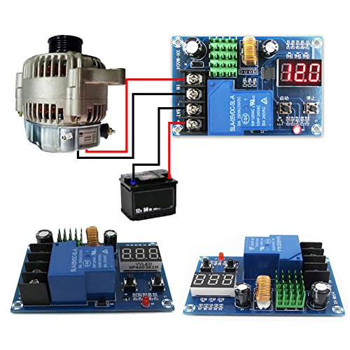 Ferrell XH-M604 Battery Charger Control Module DC 6-60V Storage Lithium Battery Switch Protection Board -