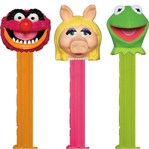 the-muppets-pez-distributeur-avec-deux-refils-vendu-a-lunite-un-seul-caractere-fourni-au-hasard