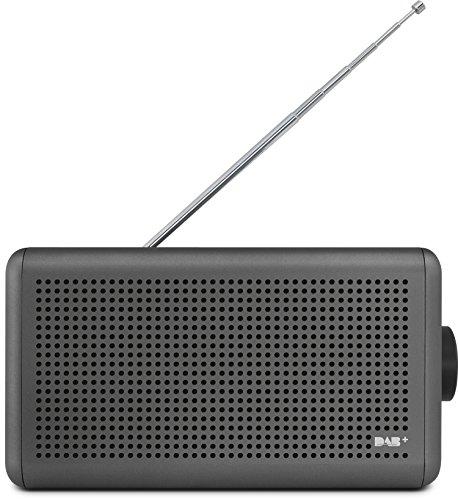 Nordmende Transita 210 – Tragbares DAB+ & UKW Digitalradio – Portable Musikbox mit Bluetooth Lautsprecher – Outdoor Radio mit Akku & Uhr