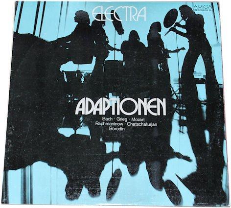 Electra (feat. Bernd Aust): Adaptionen. Bach.Grieg.Mozart.Rachmaninow.Chatchaturjan.Borodin. AMIGA. (LP/ Album/ Schallplatte/ Vinyl)