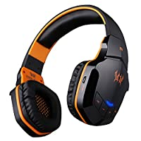 KOTION EACH Wireless Headset f¨¹r Handy-Tablette PC Mp4 PS4, V4.1 Bluetooth Hifi Bass Stereo-Kopfh?rer mit eingebautem Mikrofon