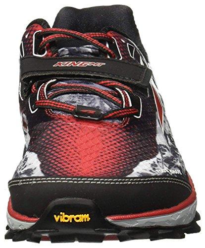 Bild von Altra King MT Trail Shoe - Men's Black / Red 9.5