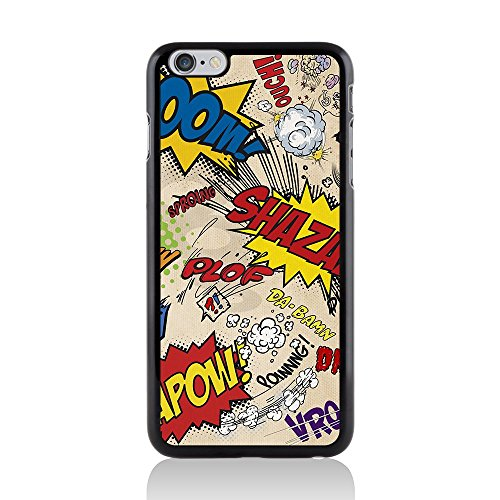 Apple iPhone 6 Plus/6s Plus Comic Capers Coque arrière rigide/Coque par Call Candy Kapow Grey