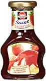 Schwartau Dessert Sauce Erdbeere, 8er Pack (8 x 125 g)