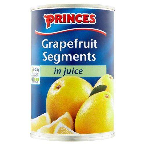 Fürsten Grapefruit Segmente in Saft 411g (Abtropfgewicht 215 g) (Packung mit 12 x 411g)