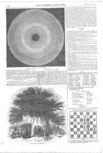 Schach Schach-Problem *65, Druck Palmsonntags 1845