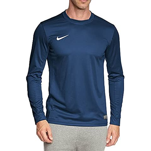 Nike Park - Protección de camiseta para hombre, Color Azul (Midnight Navy/White), Talla S