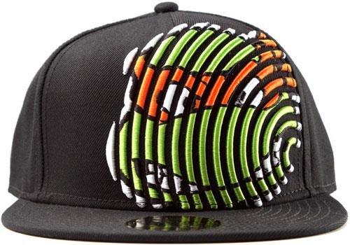 Turtles Snap Back Cap - Michelangelo, Schwarz