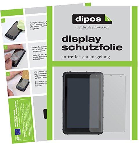 dipos I 2X Schutzfolie matt passend für Caterpillar T20 Folie Bildschirmschutzfolie