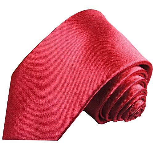 Cravate homme rose uni 100% soie