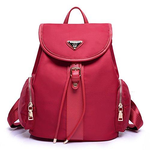 Signora sacchetti di spalla di modo/Schoolbag universitario del vento/Oxford panno zaino grande capacità-A D