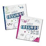 """BE YOU! Freundebuch für Mädchen (pink) """"meine Freunde und ich"""""""
