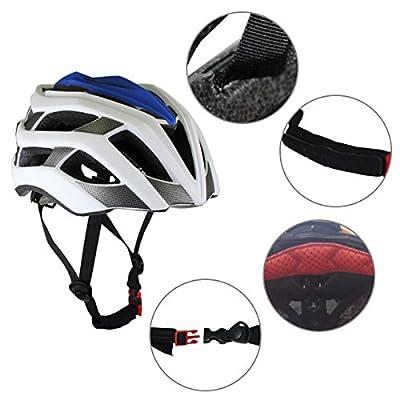 MTB Bike Helmet for Adults, EarthSave Ultralight Bicycle Helmet Unisex Adjustable Mountain Bike Cycle bmx Helmets For Men/Women 58-61cm by EarthSafe