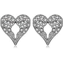 """SIVERY""""Angel Wings"""" Stud Earrings, Earings for Womens, Jewellery for Women, Gifts for women"""