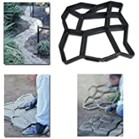 HENGDA® tiritas Forma Aceras tiritas palo Path Maker Jardín Aceras placas hormigón tiritas para encofrado forma