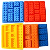 LEGO Ladrillos Bloques con forma rectangular DIY Chocolate molde de silicona pastel herramientas