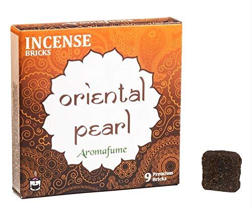 Aromafume Oriental Pearl Räucherstäbchen, 1 Box = 9 Steine - Zimt-rinde-baum
