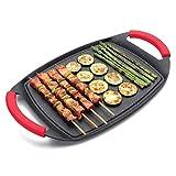 Lacor 25547 - Plancha/grill de aluminio
