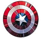 Verbetena, 014300043, figura articulada escudo capitan america, diametro 1 metro aprox.