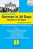 #9: Langenscheidt German in 30 Days: Book + CD