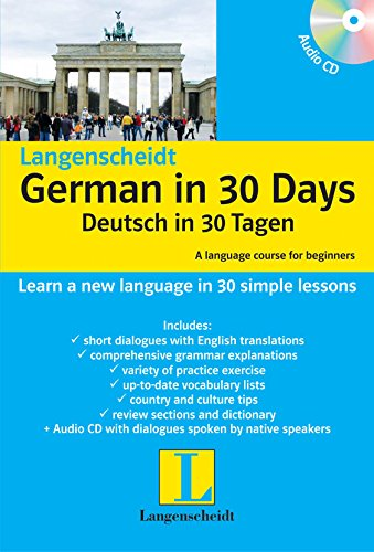 Langenscheidt German in 30 Days: Book + CD
