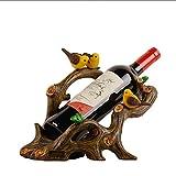 Cremagliera Del Vino Ornamento Decorazione Creativa Regalo Pratico Da Tavola Armadietto Del Vino Decorazione Decorazione Morbida Cremagliera Del Vino