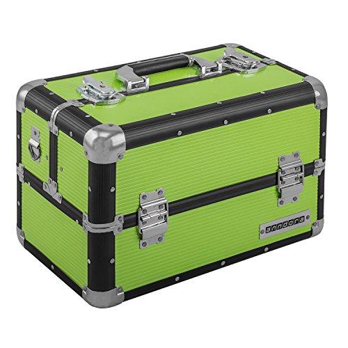 Beauty Case 20 L Multi Valise étage Coffre de transport – Choix de Couleurs L Schwarz Limette