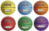Schule smart gradeballs Gummi Basketball–Junior Größe–Set von 6, verschiedene Farben