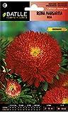 Semillas de Flores - Reina Margarita Roja - Batlle