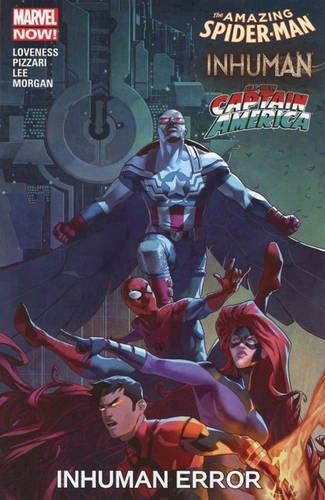 Asm Inhumans All New Captain America Inhuman Error (Amazing Spider-Man)