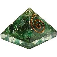 HARMONIZE Reiki Healing Kristall Spiritual-Geschenk-Energie Aventurine Orgon Pyramide Chakra Symbol-Energie-Generator preisvergleich bei billige-tabletten.eu