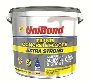 Unibond Concrete Floor Tiling Adhesive Amp Grout Beige 1
