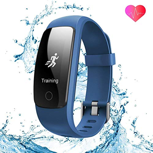 WATCH Mode Fitness Tracker von verbesserte 2018 3. Generation Activity Tracker, Sport Fitness Schlaf-und Pulsmesser, IP67-bewertet Waterproof Smart Band mit Schrittzähler für Smartphone