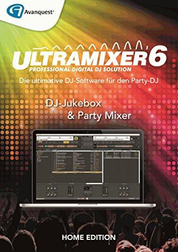 UltraMixer 6 Home - Die ultimative DJ-Software! Windows 10|8|7|Vista|XP oder macOS 12.12|10.11|10.10 [Download]