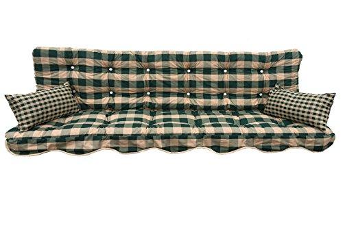 Adlatus-Kühnemuth Polsterauflage Gartenstuhlauflage Modell 750 (180x50 cm Hollywoodschaukelauflage)