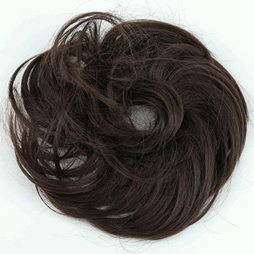 Prettyshop 100 Echthaar Humanhair Haargummi Haarteil Hairpiece