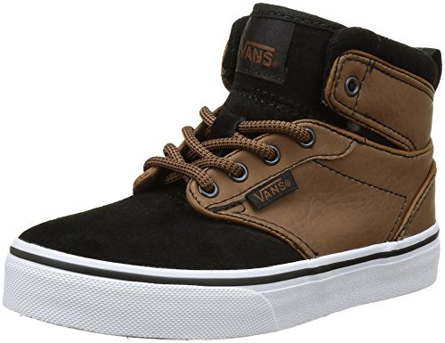 Vans Atwood Hi, Sneakers Hautes Garçon Multicolore (Buck Leather - hohe)