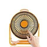 GXQL Bureau Chauffe-Eau Accueil Le Petit Soleil Ventilateur électrique à l'intérieur Radiateur Imperméable Mini Chauffage Chauffage Type de Chaleur Rapide Muet 220V 250W...