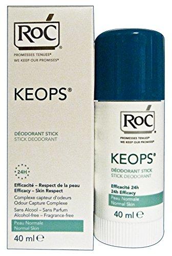 Roc Desodorante Roll-On Keops 2 X 40 ml