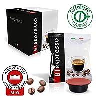 Questo prodotto è composto da 8 confezioni BIespresso contenenti ognuna 50 capsule di caffè decaffeinato compatibili con tutte le macchine che usano cialde Lavazza * A Modo Mio. Per chi non vuole rinunciare al sapore del caffè più INTENSO, il...