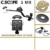 c-scope-Knacken tecteur,  Rate CS 1MX mit protã ¨ GE Festplatte und Kopfhörer