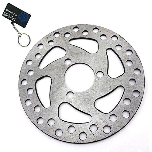stoneder 29mm 120mm Stahl Bremsscheibe Rotor für 2Takt 47cc 49cc Gas Elektro Scooter Pocket Mini Dirt Bike Kinder Atv Quad 4Wheeler (Vier Wheeler Gas)