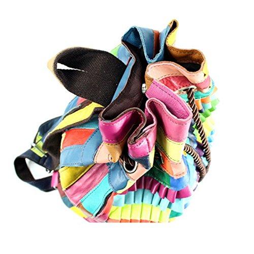 Eysee, Poschette giorno donna Multicolore nero 28cm*39cm*20cm Multicolore