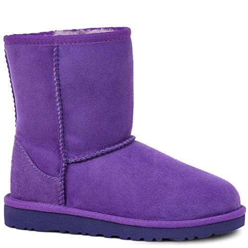 UGG K's Classic Short 5251, Stivali Unisex Bambino Electric Purple