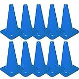 Cawila Markierungskegel 10er, Höhe 23cm, Blau, 00930061