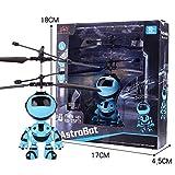 Xixini Children Flying Toys Mini Infrared Sensing Lighting Flying Toy USB Charging LED Flashing for Kids